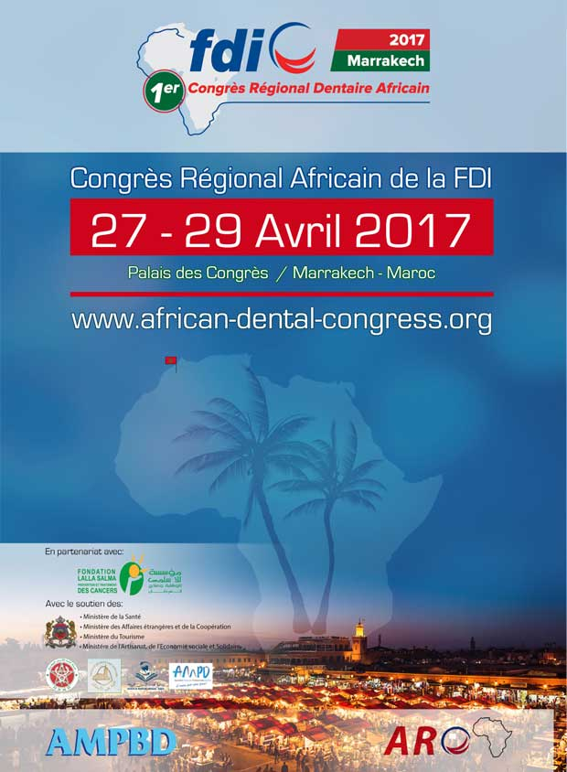 1st FDI African Regional Dental Congress in Marrakech 2017