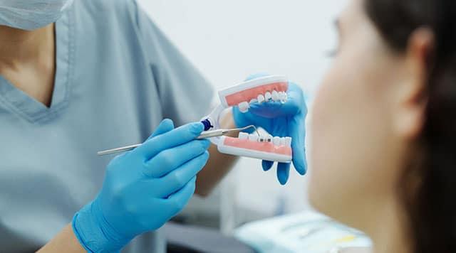 1ère consultation chez le dentiste