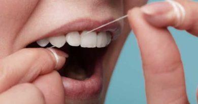 utilisation du fil dentaire