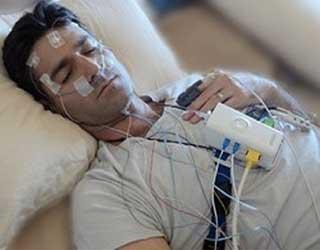 Polysomnogramme (PSG) mesure l'apnée du sommeil